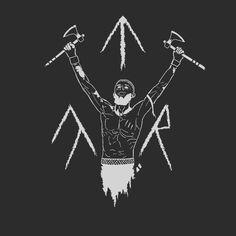 Viking Tattoo Symbol, Norse Tattoo, Viking Tattoos, Love Tattoos, Black Tattoos, Traditional Tattoo Black And White, Norse Mythology Tattoo, Spartan Tattoo, Cute Tats