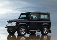 Land Rover Defender. One day I will own one of these. Only it will be pearl white and tan paint and light tan interior. <3 One day. . . .