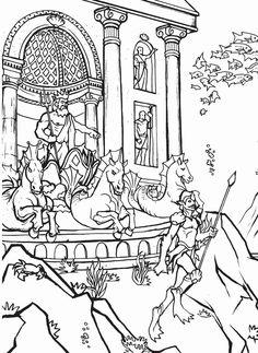 Build a Poster Coloring Book--Atlantis