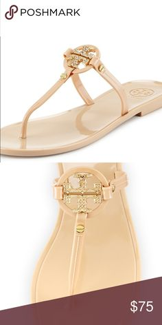 Tory burch Will be adding more pictures, it's in great conditions the only wear is in the soles but the tops and stones are in perfect conditions Tory Burch Shoes Sandals