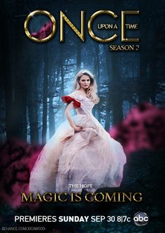 Once Upon a Time - Emma Swan Poster by Joca.wood, via Flickr