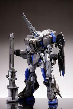 """""""mrrobotto:  MG GAT-X102 Duel Gundam Assault Shroud customise  """""""
