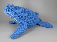 Humpback Whale PDF amigurumi crochet pattern by edafedd on Etsy