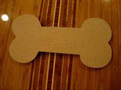 Dog Bone Mdf Wood Shape/Mosaic Base 1/4 Inch Thick by zzbob, $7.80