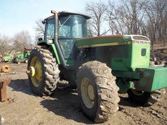 John Deere 4960 tractor salvaged for used parts. This unit is available at All States Ag Parts in Ft. Atkinson, IA. Call 877-530-3010 parts. Unit ID#: EQ-23940. The photo depicts the equipment in the condition it arrived at our salvage yard. Parts shown may or may not still be available. http://www.TractorPartsASAP.com