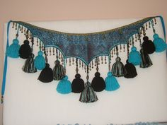 New ATS Tribal Tassel Belt made in USA. $75.00, via Etsy.