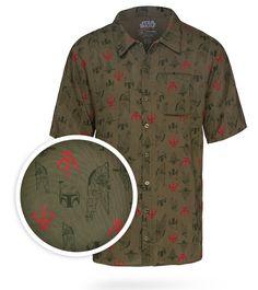 Star Wars Boba Fett Hawaiian Shirt