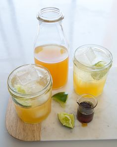 """Mint & Lemongrass Lemon-Limeade with Agave The person who coined the phrase """"when life gives you lemons make lemonade"""" was right on target! ..."""