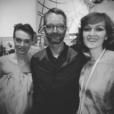 Vera and Marianna with Marcus Luft, Gala fashion director and Gala Style editorial director #thegiustisisters #kadewe #studioitalia #berlin #agl #aglshoes #attiliogiustileombruni
