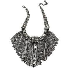 DANNIJO Caprina ($348) ❤ liked on Polyvore featuring jewelry, necklaces, accessories, colares, joias, fringe jewelry, swarovski crystal jewelry, chains jewelry, chain necklaces and long necklace