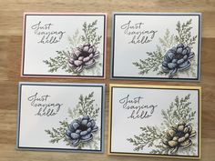 Friend Cards, Cards For Friends, Sympathy Cards, Greeting Cards, Stamping Up, Flower Cards, Diy Cards, Stampin Up Cards, Cardmaking