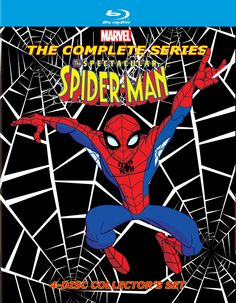 Spectacular Spider-Man, The: The Complete First And Second Season on Blu-ray from Sony Pictures Home Entertainment. More Action, Fantasy and Family DVDs available @ DVD Empire. Tv Movie, Picture Movie, Man Movies, Serie Marvel, Dvd Film, Black Friday Specials, Blu Ray Movies, Watch Cartoons, Marvel Cartoons