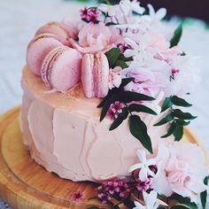 Amazing macaroon cake @kateoliver Instagram photos