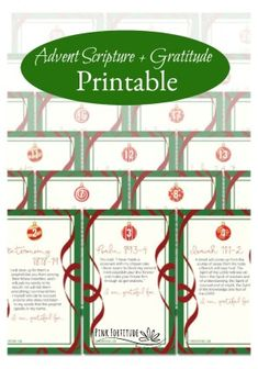 Let's turn our faces towards God and celebrate the season by counting down with 26 Advent printables. We've curated both Old Testament and New Testament Bible verses that are perfect for the Advent season. Easy Diy Christmas Gifts, 25 Days Of Christmas, Christmas Ideas, Printable Prayers, Printable Bible Verses, Advent Scripture, New Testament Bible, Advent Season, Christmas Wonderland