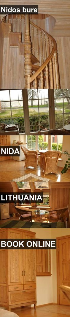Hotel Nidos bure in Nida, Lithuania. For more information, photos, reviews and best prices please follow the link. #Lithuania #Nida #Nidosbure #hotel #travel #vacation