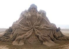 Потрясающие скульптуры из песка Тошихико Хосаки « FotoRelax