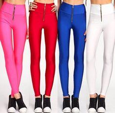 Leggings Uk, Colorful Leggings, Cute, Pants, Fashion, Trouser Pants, Moda, Fashion Styles, Kawaii