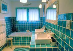 Blue Bathroom Decorating Ideas