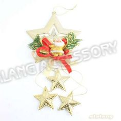 Chirstmas Gift 3pcs/lot Best Price Gold StarsSanta Clause Ornament Fit Christmas, Festival Decoration 260088-in Christmas Decoration Supplies from Home  Garden on Aliexpress.com $5.34