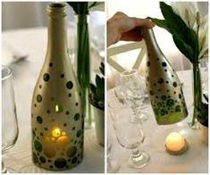Image result for best out of waste ideas from alcohal bottles