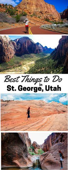 Top Things to do in St. George, Utah