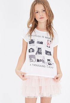 A Thousand Likes Graphic Tee (Kids) | FOREVER21 girls - 2000079862