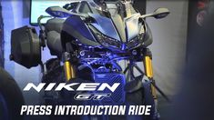 2019 NIKEN GT Press Introduction Ride Motorcycle Touring, Yamaha Motor, How To Memorize Things