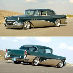 Two tone 55 Buick Special