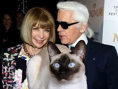 Karl Lagerfeld Gave An Entire Interview About His Spoiled Siamese Cat, Choupette