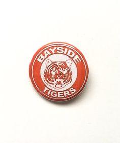 00d9f93bb49 Bayside Tigers Pinback Button 1.25