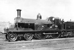 North British Railway 4-4-0 by Wheatley at Cowlairs