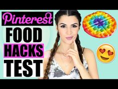 PINTEREST FOOD HACKS GETESTET! | KINDOFROSY - YouTube