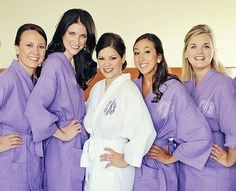 On Sale till June 25th Personalized Robes. by ChrissysCreationsEmb, $201.60