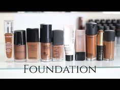 All about FOUNDATION | Undertones, Matching and My Foundation Collection (WOC Friendly!) - YouTube