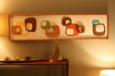 Love, love, love this wall art!  Mid-Century - Googie - Abstract