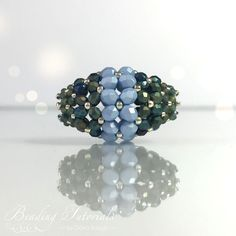 How to make a beaded bead with self-supporting structure