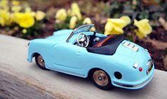 Schuco Examico Spyder/青いポルシェ