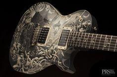 Mark Tremonti (Alterbridge, Creed) guitar illustrated by Joe Fenton