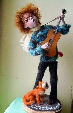 """Коллекционные куклы ручной работы. Ярмарка Мастеров - ручная работа. Купить Авторская кукла """"С добрым утром, любимая!"""". Handmade."""