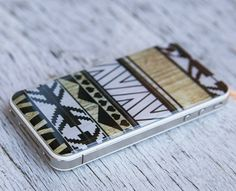 Geometric iPhone 3D Gel skin