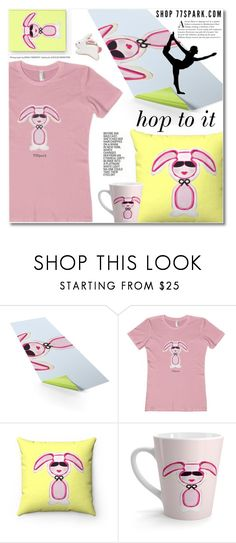 """""""Hop to it, sporty 32"""" by duma-duma ❤ liked on Polyvore featuring Wilton, Bunny, Home, sporty and decor"""