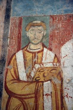 Leo IV in San Clemente, Rome (something I've been writing about)