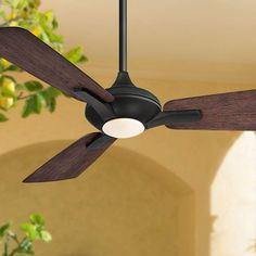Retro Ceiling Fans, Best Ceiling Fans, Outdoor Ceiling Fans, Contemporary Ceiling Fans, Ceiling Fan Makeover, Bronze Ceiling Fan, Fan Lamp, Led Dimmer