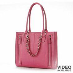 Apt. 9 Sandra Tote-kohls $48   doesn't everyone need pink?