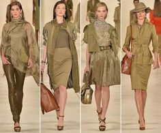 Spring Summer 2015 Ready-to-Wear modern safary Trends
