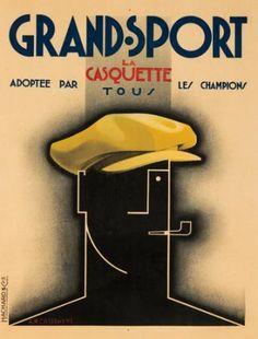 Grand-Sport. 1925 A. M. CASSANDRE (Adolphe Mouron, 1901-1968)*