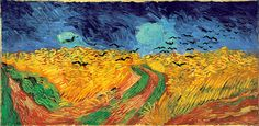 Vincent Van Gogh's Wheatfield with Crows (1890). Van Gogh Museum, Amsterdam