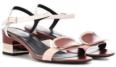 Roger Vivier Chips West Buckle leather sandals