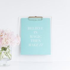 Limited Edition Believe in Magic Print / b is for bonnie shop