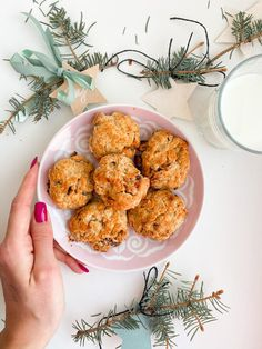 Christmas Cookies, Muffin, Baking, Breakfast, Desserts, Recipes, Blog, Fitness, Anna